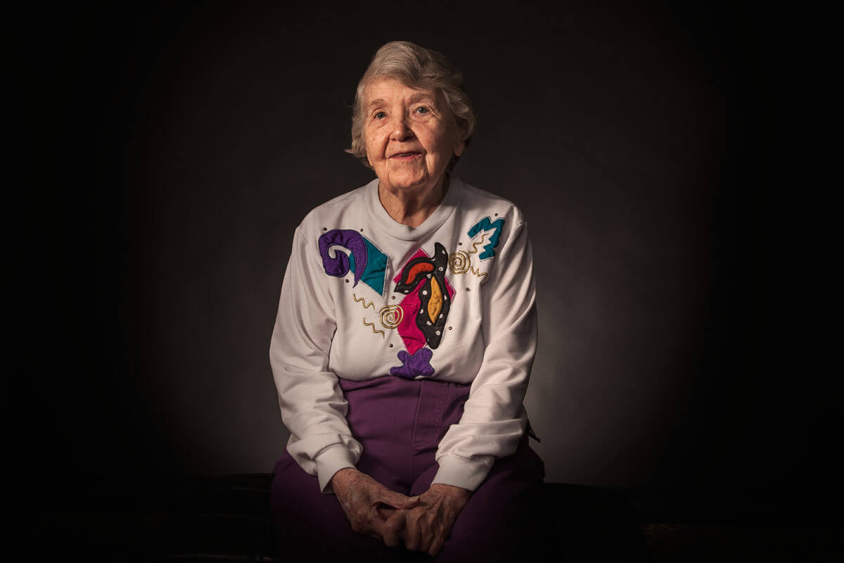 Portraits of WWII veterans captured by Austin, TX based photographer Dennis Burnett.