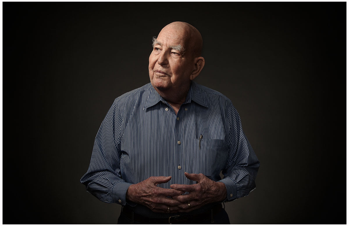 Portraits of WWII veterans captured by Austin, TX based photographer Dennis Burnett.
