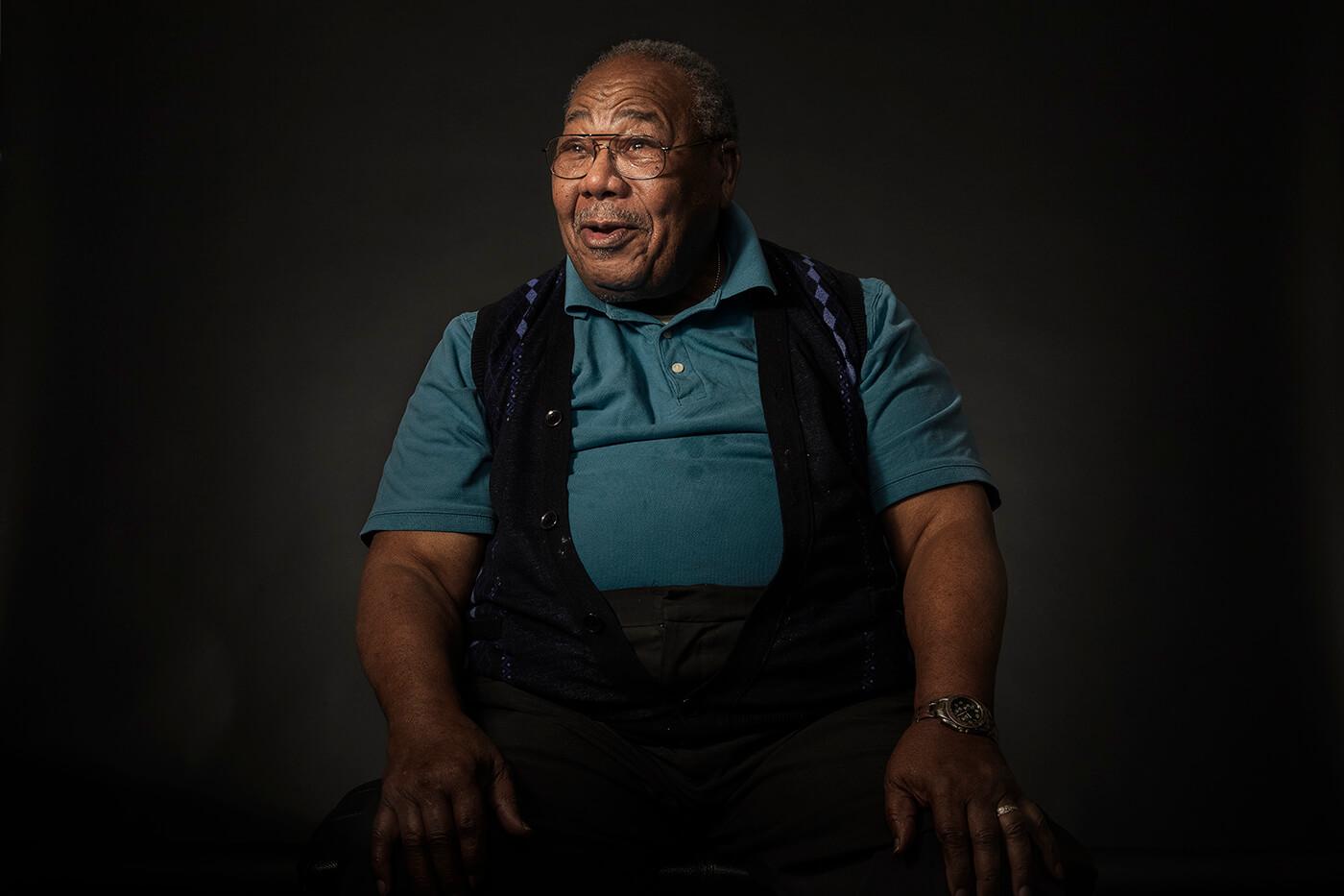 Austin, TX based photographer Dennis Burnett captures portraits of WWII veterans.