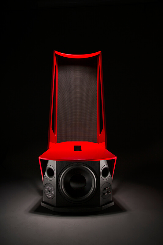 Studio photography of electronic product.