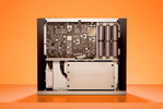 Studio photography of electronic product.