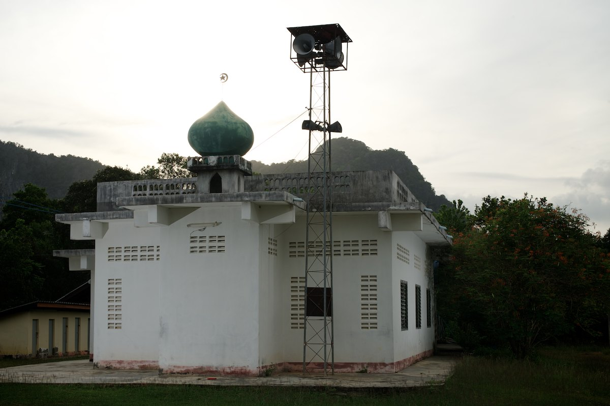 Mosque in Baan Chao Mai