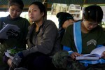Students in class at the Free Burma Ranger Jungle School of Medicine Kawthoolei.