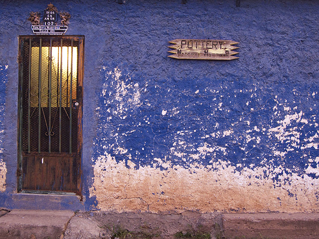 Home of a potter in Mata Ortiz
