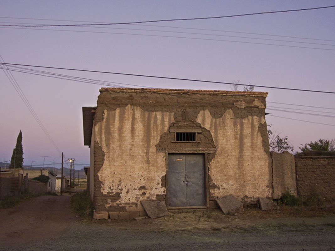 An old storage building in Mata Ortiz