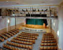 The renovated auditorium
