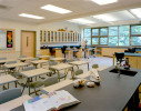 Typical science classroom