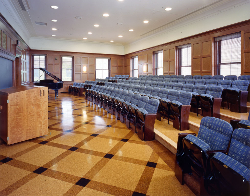 Krueger Lecture Room after transformation
