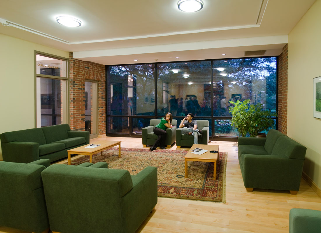 Main lounge in the Krenz Center
