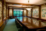 The Board of Regents Room displays a significant collection of historic memorabilia from American captains of industry.