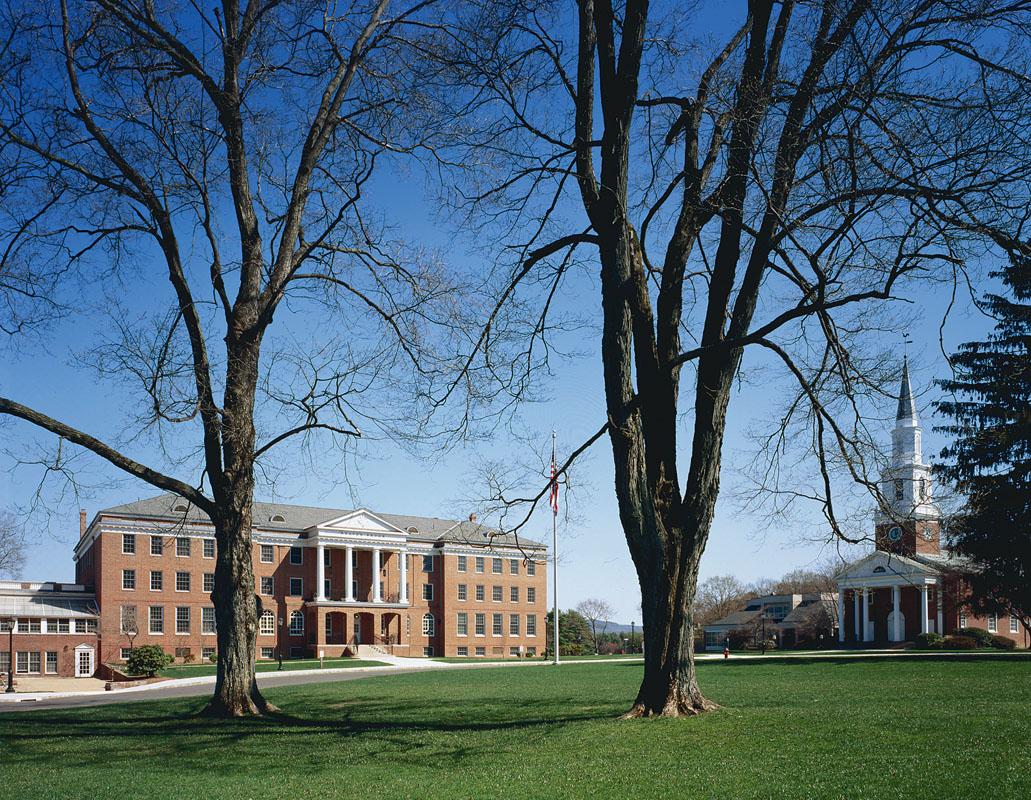 Transformed Academic Center and new elliptical quadrangle