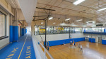 Renovated gym and new track