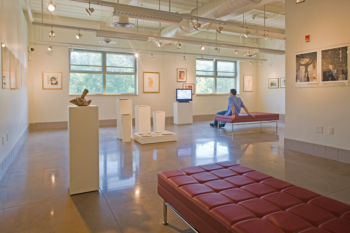 The New Sudent Center Private Gallery