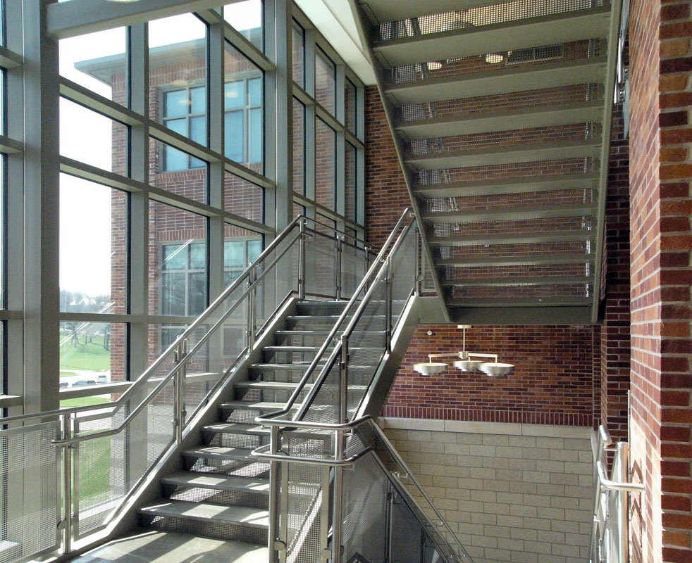 Centennial Hall main stair