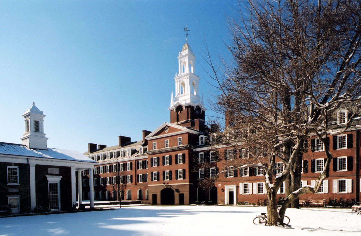 The Renovated College and Quadrangle: Yale University: • COLLEGES ...