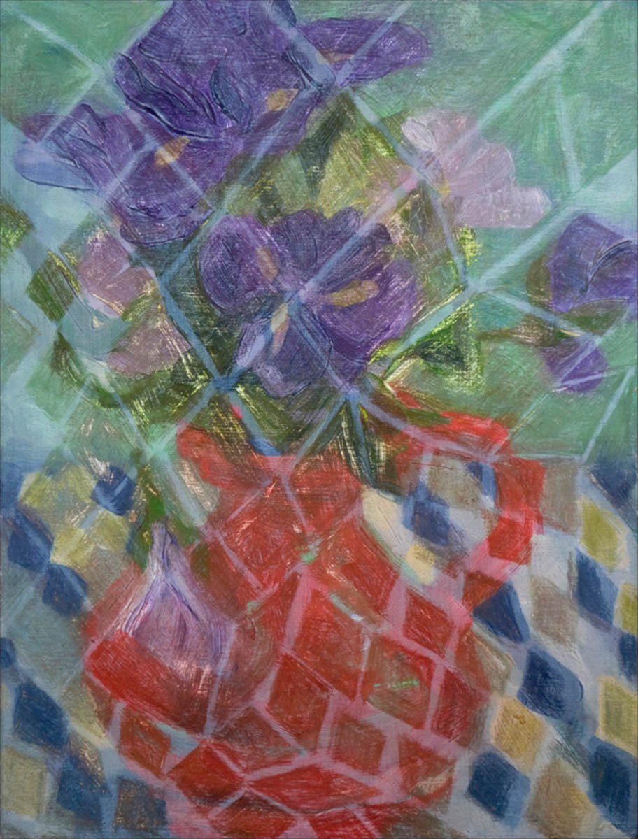 oil on board10 x 8in., 2009