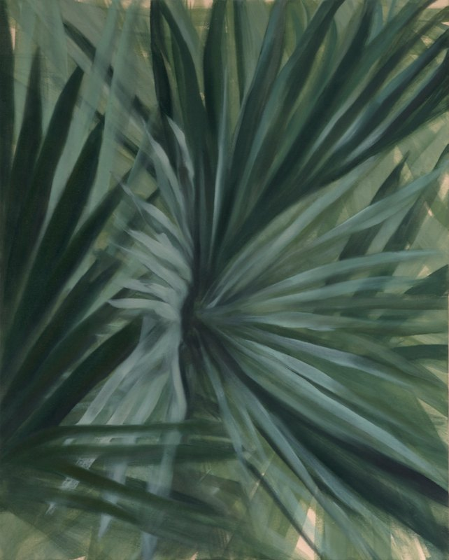PALMoil and acrylic on canvas over board52 x 42 cm., 2011