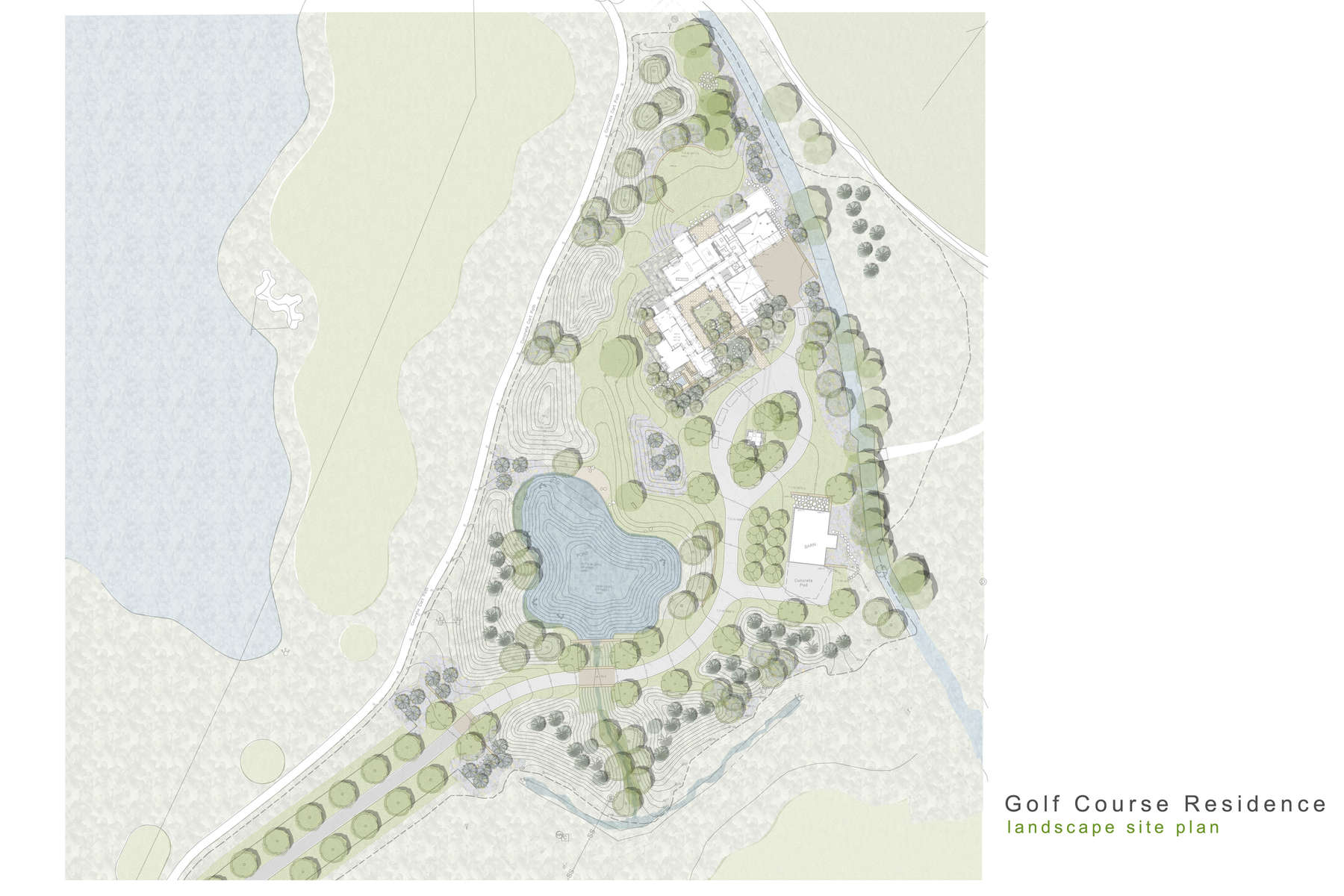 Golf Course Residence