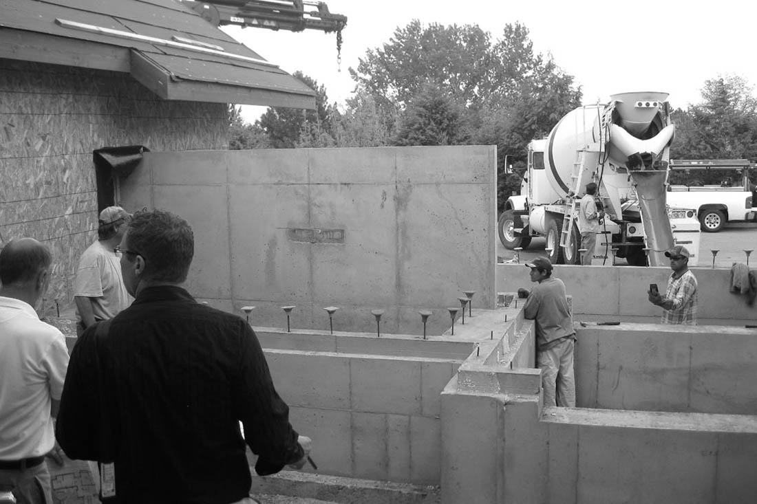On site meetings with the contractors are critical to ensure all structural layouts are installed correctly.