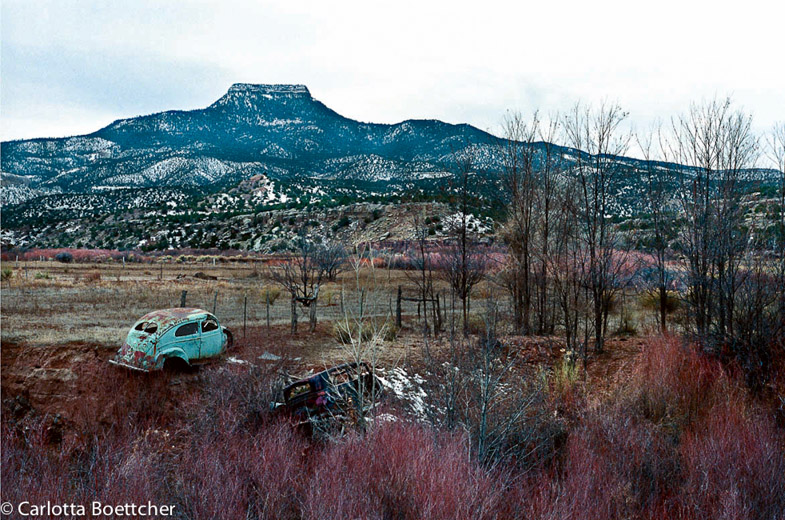 Photograph Carlotta Boettcher New Mexico 1995.www.casaaurorapublications.com