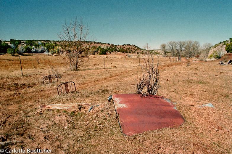Photograph Carlotta Boettcher New Mexico 1995.www.casaaurorapublications.com