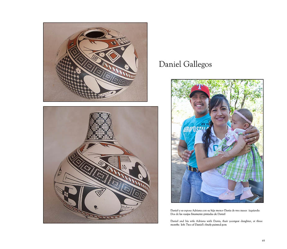 {quote}Daniel shares his father's attraction for traditional Paquimé designs.{quote}