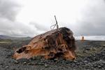Shipwreck on the Reykjanes Peninsula