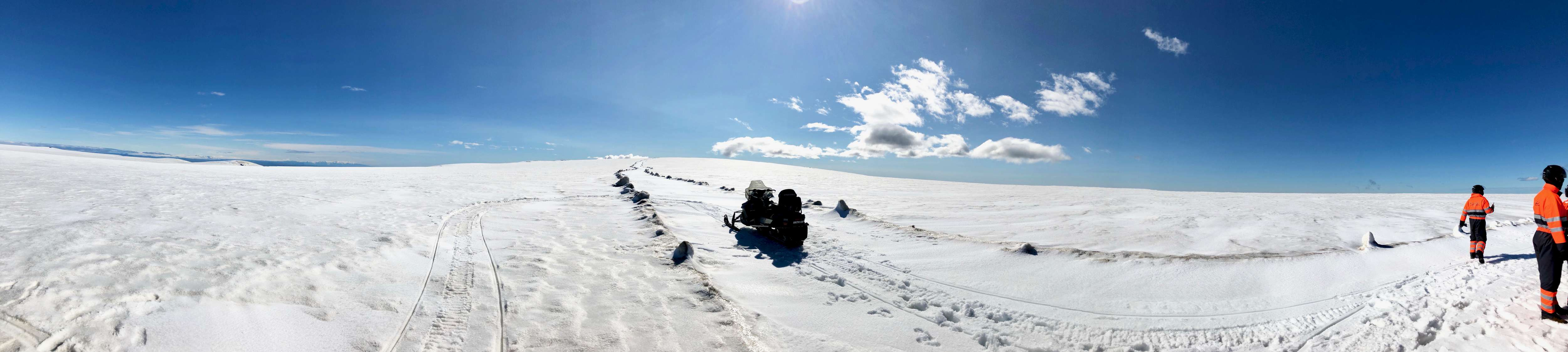 Myrdalshreppur Glacier