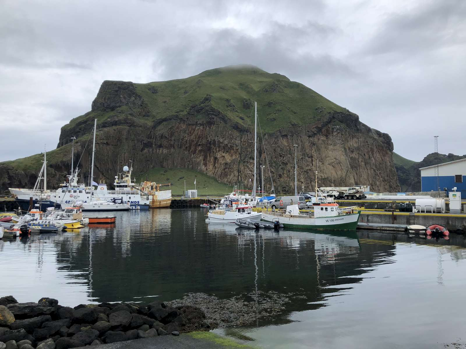 Westman Islands harbor