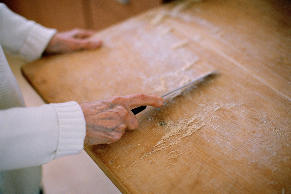 <i>Cleaning the Cutting Board</i>, 2010