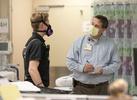 April 01, 2020. COVID Coverage, IU Health Methodist Hospital Emergency Department