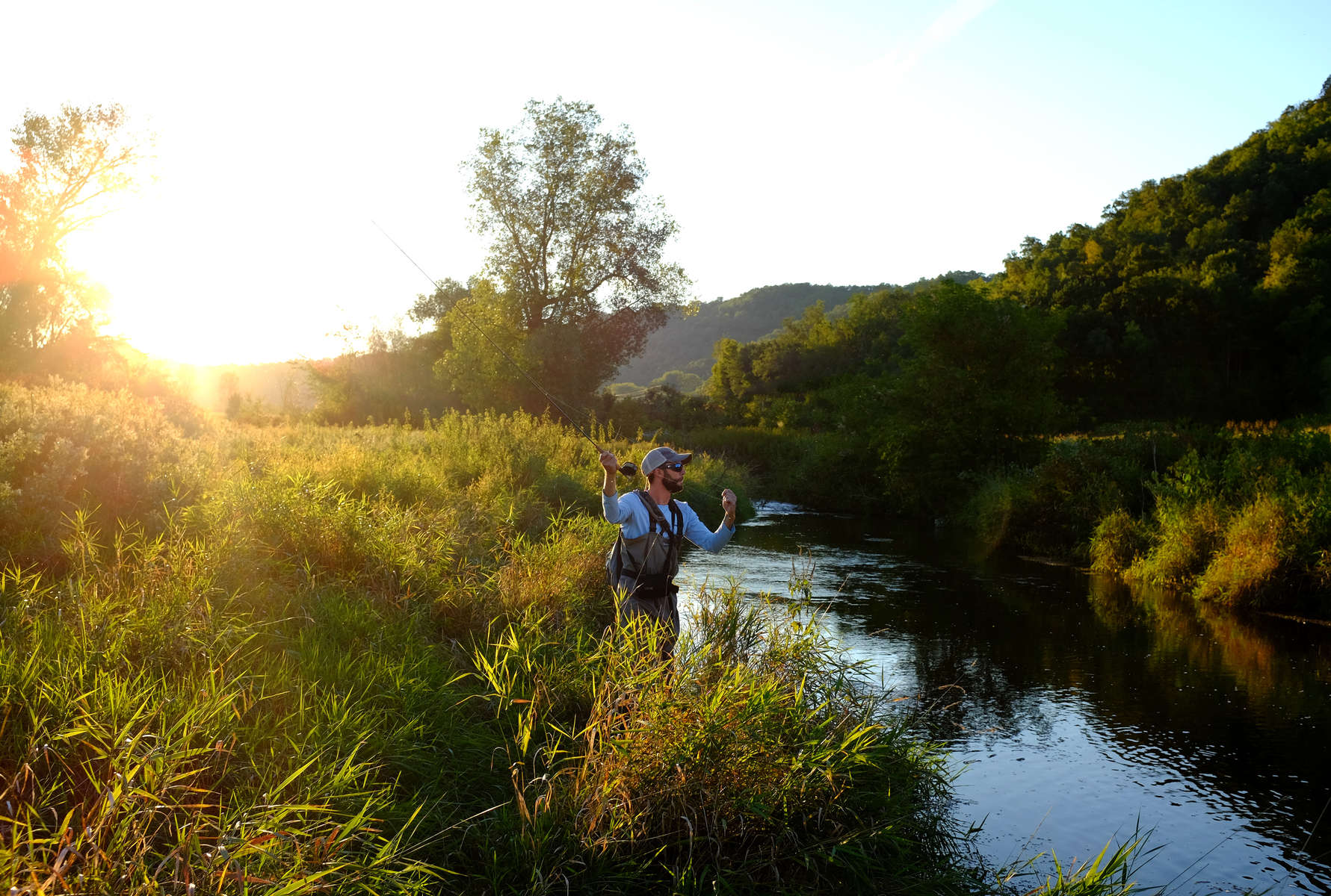 Outdoor life chris bergin photography indianapolis for Driftless fly fishing
