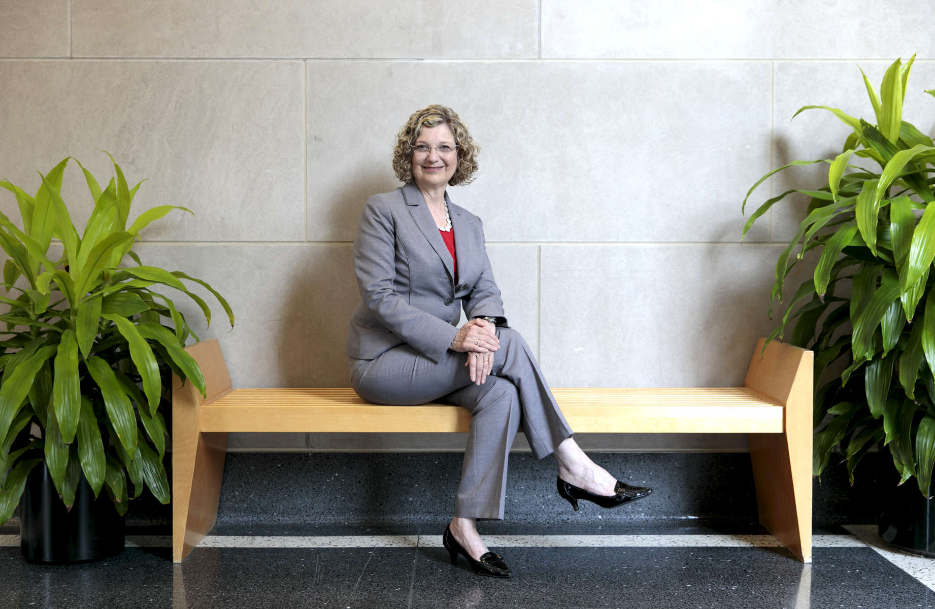 Idalene Kesner, Dean of the Kelley School of Business at Indiana University, Bloomington, Indiana. Photo/ Chris Bergin