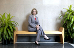 Idalene Kesner, Dean of the Kelley School of Business at Indiana University, Bloomington, Indiana. Photo/ Chris Bergin