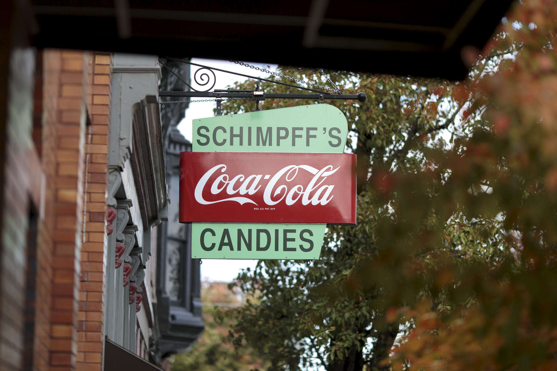 Schimpff's Candy store in Jeffersonville, Indiana. Schimpff's Confectionery is one of the oldest continuously operated family-owned candy businesses in the United States. It opened in 1891 in the location it still occupies.