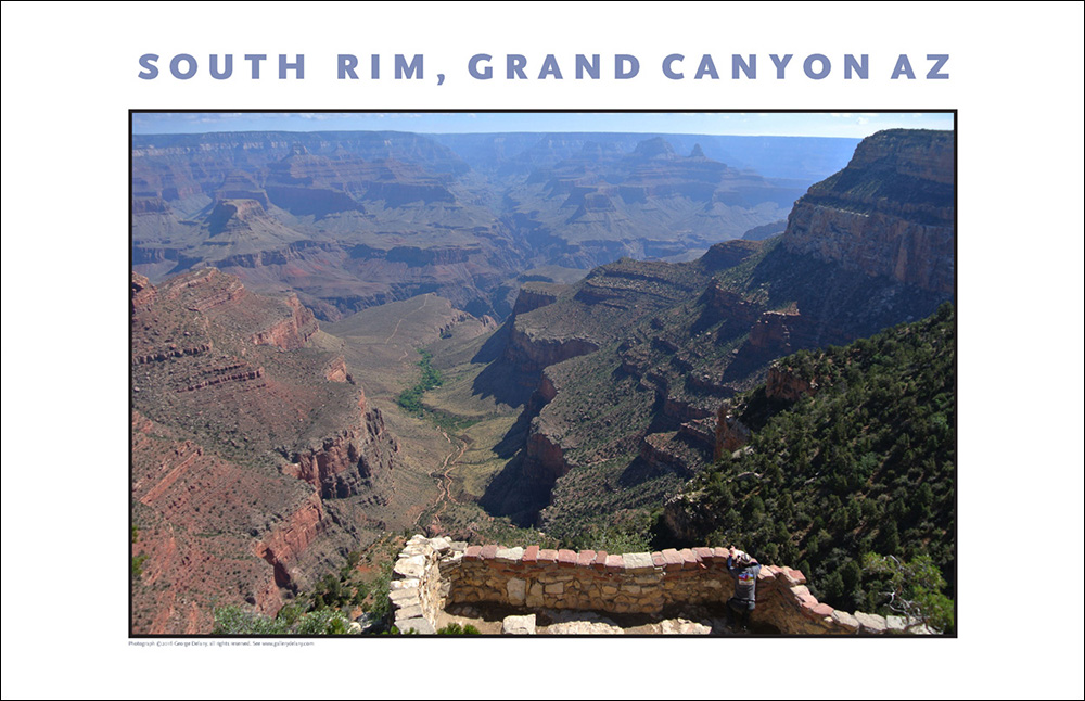 Grand Canyon Spectacular: Here at the South Rim of the Grand Canyon in Arizona we witness millions of years of earth's geologic history in one setting, humbling.