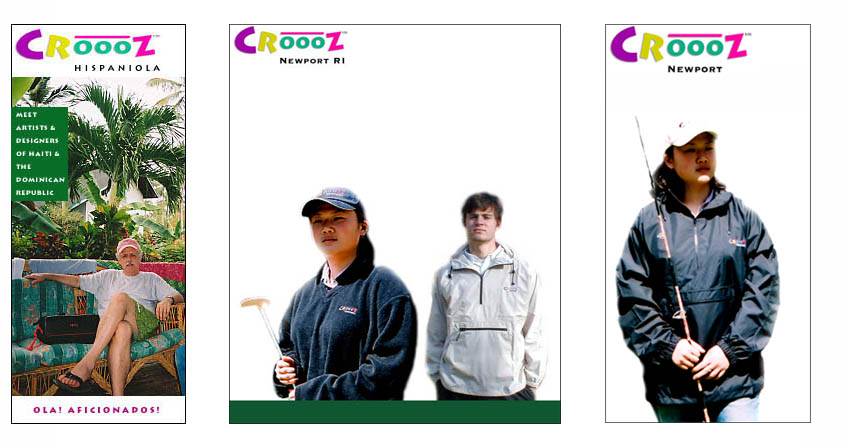Spanky, 21st Century Retail Brand: A representative sampling of branded products coming along in the Croooz® world™.