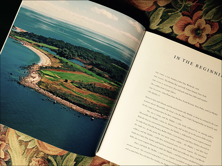 Coffee Table Edition: Hog Island, the life, a historical perspective, this unique, leather bound book was developed to celebrate Hog Island, off the Connecticut coast.
