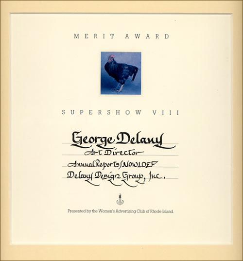 Creative Director, George Delany