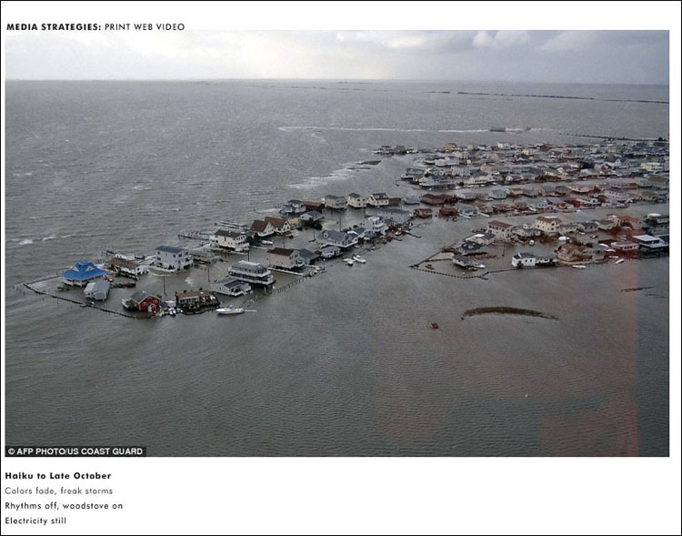 Cover photo by U.S. Coastguard, taken over New Jersey after Hurricane Sandy.