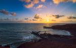 El Golfo at Sunset, Lanzarote