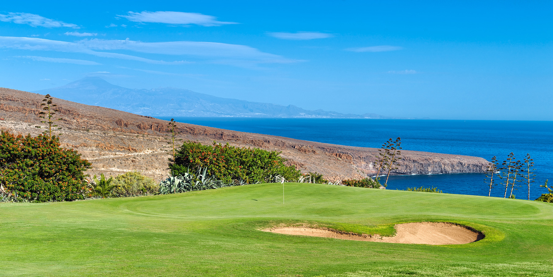 Tecina golf course, La Gomera