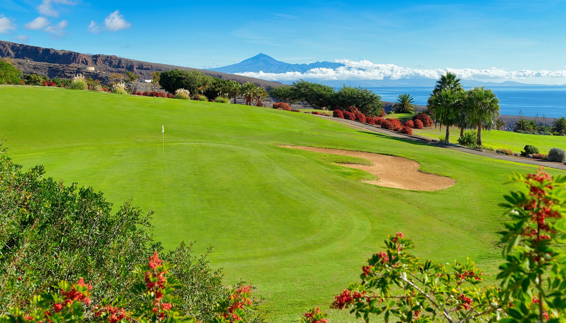 Tecina golf course, La Gomera