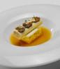 Canelón de foie gras, trufa y faisán