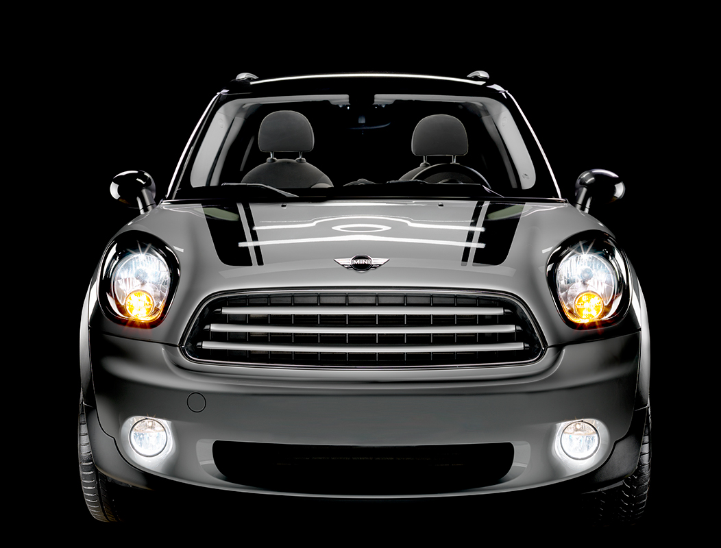 Frontal-view-Mini-Cooper