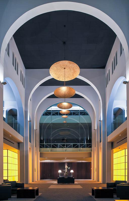Lobby hall at Le Meridien Ra, Tarragona
