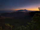Views of Tenerife from Pico del Ingles Glazer after sunset