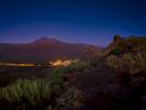 Santiago del Teide after sunset