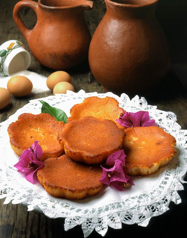 a traditional Canarian dessert
