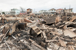 Devastation in the wake of Hurricane Sandy. November 1, 2012.